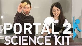 Portal 2 Potato Battery - GladOS PotatOS Science Kit - Science Unboxing For Science