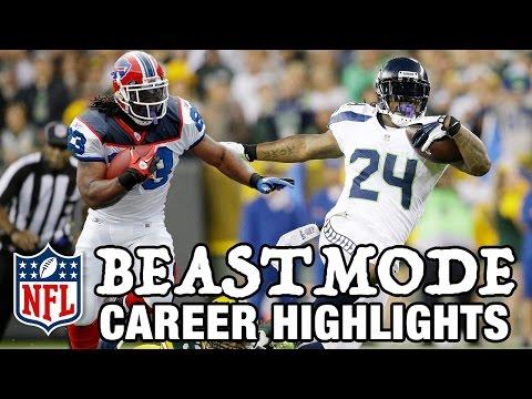 Marshawn Lynch Beast Mode Career Highlights NFL