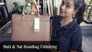 Matt & Nat Satchel Handbag Review  ||  Neha Roy