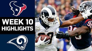Texans vs. Rams | NFL Week 10 Game Highlights
