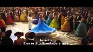 Cinderela Trailer Oficial Legendado 2015
