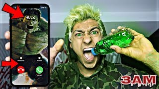 DO NOT DRINK HULK POTION AT 3AM!! *THE HULK CHALLENGE*