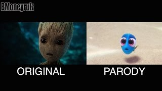 Disney/Pixar's 'Guardians Of The Galaxy Vol. 2' Side-By-Side w/ Original Trailer