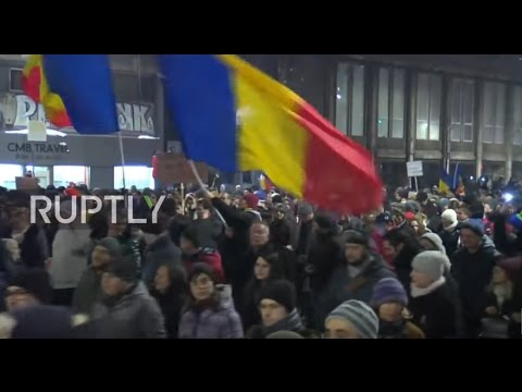 Romania: Thousands protest over plans to amnesty bill for prisoners