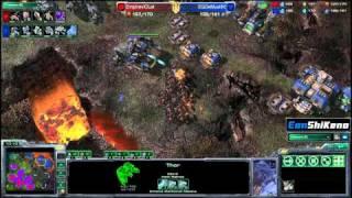 viOLet vs DeMuslim ZvT G2 Starcraft 2 EonShiKeno