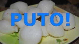 My Trip around Asia 2013 - Making Puto (Rice Cakes) in Pangasinan
