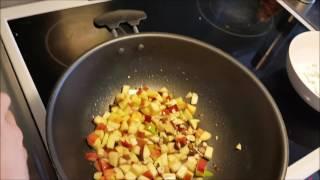 Proteinfyllt mellanmål: Keso med äpple