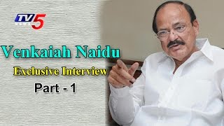 Union Minister Venkaiah Naidu Exclusive Interview   AP Special Package   Special Leader#1   TV5 News
