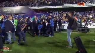 MBC PRO SPORTS - لحظة تسليم الميداليات وإستلام الهلال كأس السوبر