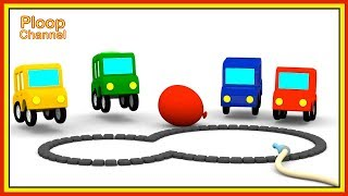 Cartoon Cars - Where are the FLOWERS? - Cartoons for Children - Childrens Animation Videos for kids