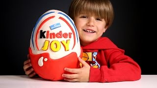 Giant Kinder Joy Surprise Egg made of Play-Doh​​​