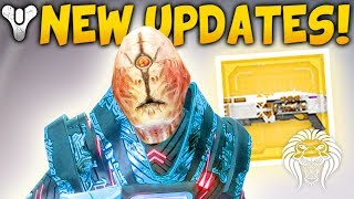 Destiny 2: NEW REWARDS & UPDATES! Exotic Quest, Prestige Loot, Patch Info & Broken Strike