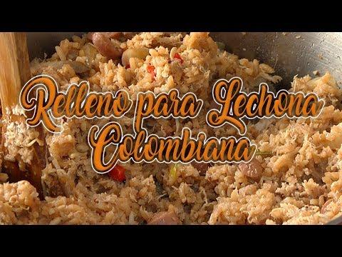 RELLENO PARA LECHONA COLOMBIANA