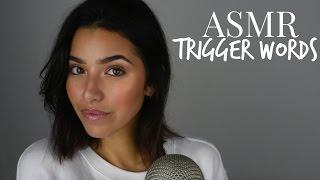 ASMR Trigger Words (Sleepy, Stipple, Relax, Tingles, +)