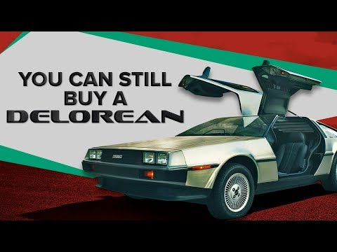 You can still buy a brand new DeLorean straight from the factory