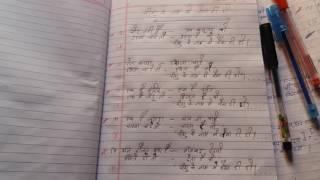 गाने या भजन लिखना।।।  4-5-2017।।