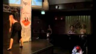 Tv Persia Dance (maryam) - رقص دختر 14 ساله در تی وی پرشیا جلوی محمد خردادیان