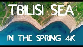 Tbilisi Sea In The Spring 4K