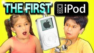 KIDS REACT TO 1ST iPOD