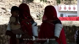 Rajasthani women from Nana village, India