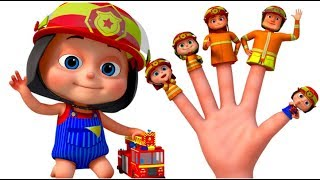 Firefighter Finger Family And Many More   Finger Family Songs   Videogyan 3D Rhymes