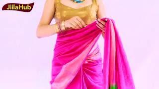 How to Wear Kosa Silk Saree Perfectly:Fast & Simple way to Drape Sari