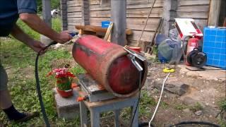 Propane Cylinder BBQ