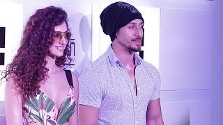 Tiger Shroff With HOT Girlfriend Disha Patani At Myntra Sneaker Club Event