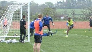 Jordan Ibe's solo goal in training