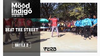 Spardha Dance Crew vs DAV College | Beat The Street | Mood Indigo IIT Bombay | TheVerb Official