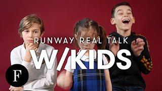 Kids React to New York Fashion Week