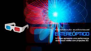 Performance audiovisual Estereóptico - videomapping 3D - 14 de dezembro