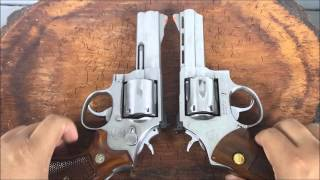 Revolver Shootout Taurus 689 vs. Smith and Wesson 686 .357 Magnum