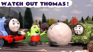 Thomas The Tank Engine prank on Tom Moss The Prank Engine with a funny Rascal Funling