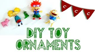 Christmas Countdown Crafts (CCC) - Toy Ornaments