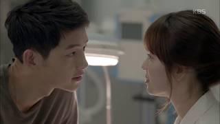 """'태양의 후예' - 송중기, 송혜교에게 """"나 여기 아픈데, 치료 해줘요"""""""