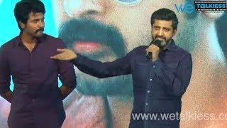 Director Mohan Raja praises Sivakarthikeyan | Velaikkaran Audio Launch