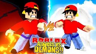 ROBLOX - ANGELS vs DEMONS!