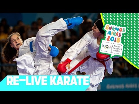 LIVE 🔴 Day 12: Karate   Youth Olympic Games 2018  Buenos Aires