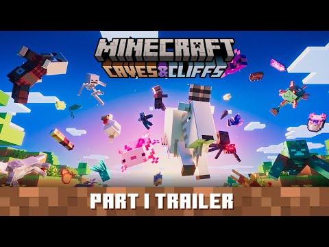 Caves & Cliffs Update Part I – Official Trailer