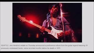 Latest posthumous Hendrix album features 10 new tracks
