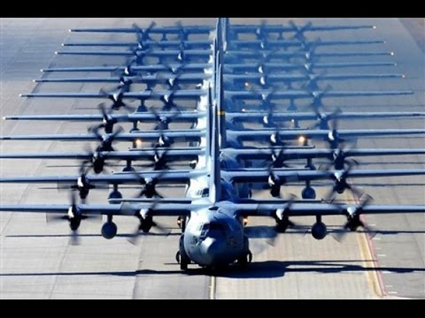 watch US Air Force makes a SHOW OF FORCE to show the world who is boss