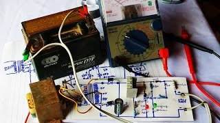 How to do Simple Charger Circuit for battery 12V | Transformer 3A 220V A.C