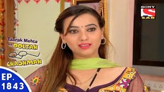 Taarak Mehta Ka Ooltah Chashmah - तारक मेहता - Episode 1843 - 6th January, 2016