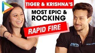 ROCKING: Tiger Shroff & Krishna Shroff