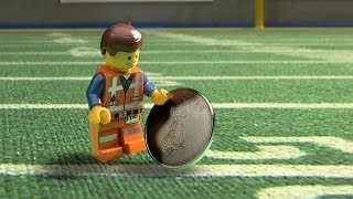 The LEGO Movie - Puppy Bowl Coin Toss [HD]