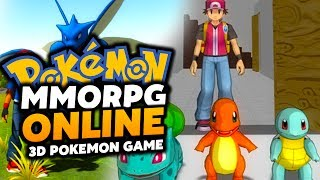 Pokemon MMORPG 3D - Pokemon Online Game!? (AWESOME POKEMON MMORPG!) Episode #02