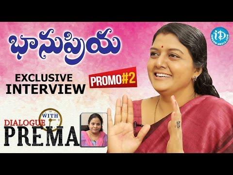 Bhanu Priya Exclusive Interview - Promo 2    Dialogue With Prema    Celebration Of Life #1