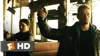 Extraction (2015) - Biker Bar Brawl Scene (3/10) | Movieclips