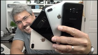 Cual es mas rápido? iPhone 8 plus versus Galaxy Note 8, iPhone 7 plus Galaxy S8 plus